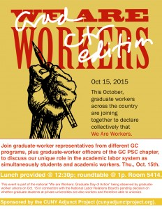 We Are Workers flyer version
