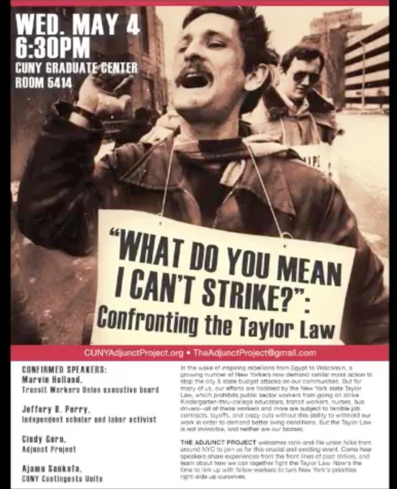 From the Archives: Confronting the Taylor Law (2011)
