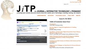 Screenshot of JITP 4
