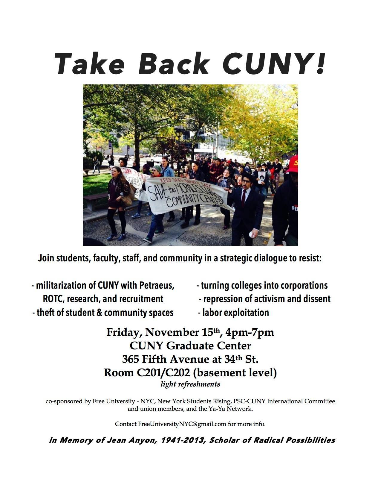 Take Back CUNY