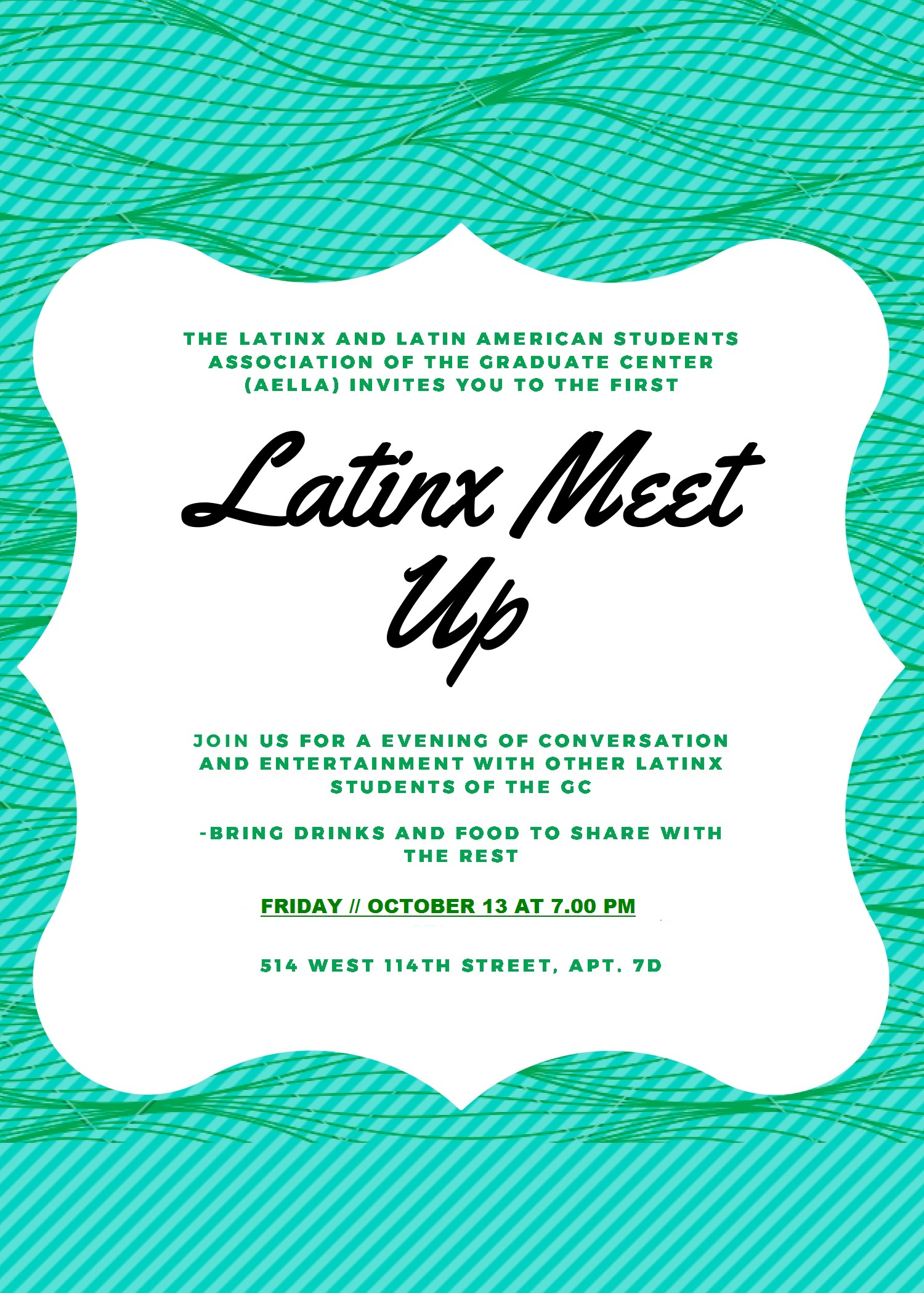 The Latinx and Latin American Students Association (AELLA) invit