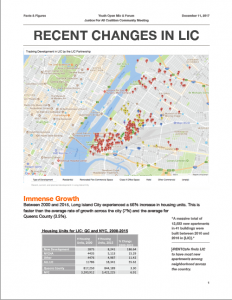 First page of Recent Changes in LIC Report