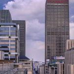 Photo of Joburg city centre highrise buildings
