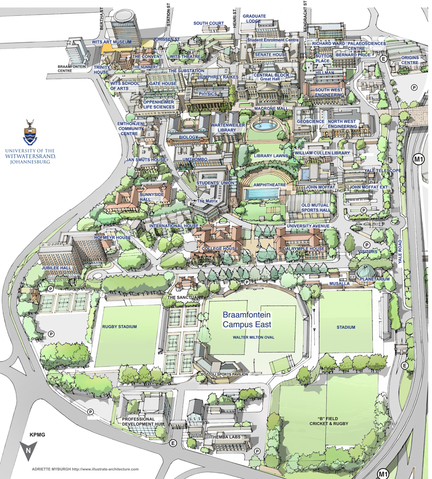 Wits Campus Map | World Map on miss valley state u campus map, youngstown airport map, youngstown state university parking, ysu campus map, pc campus map, asu campus map,