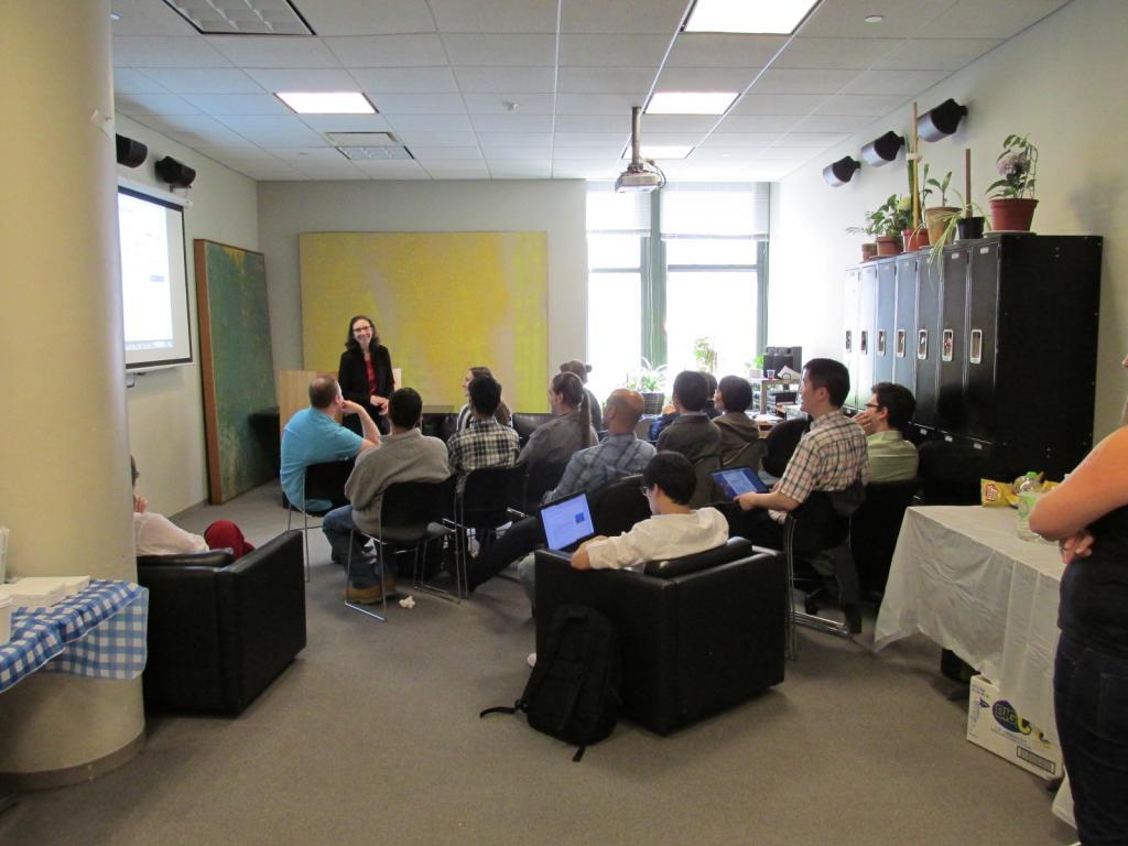 Professional development talk