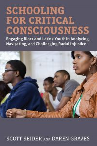 book cover with title and image of Black adolescent students