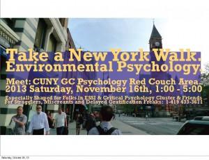 Take a Walk Flyer.