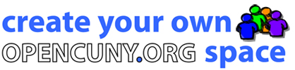 create your own opencuny.org space