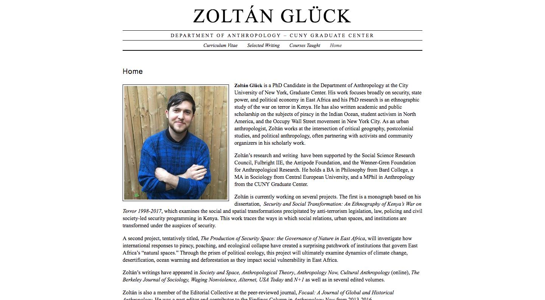 Zoltan Gluck's site
