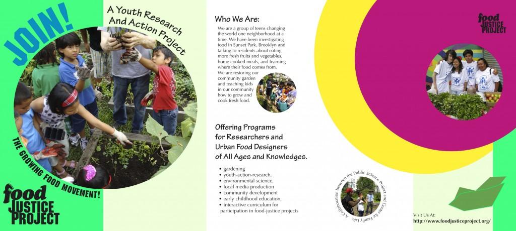 Food Justice Brochure (English)