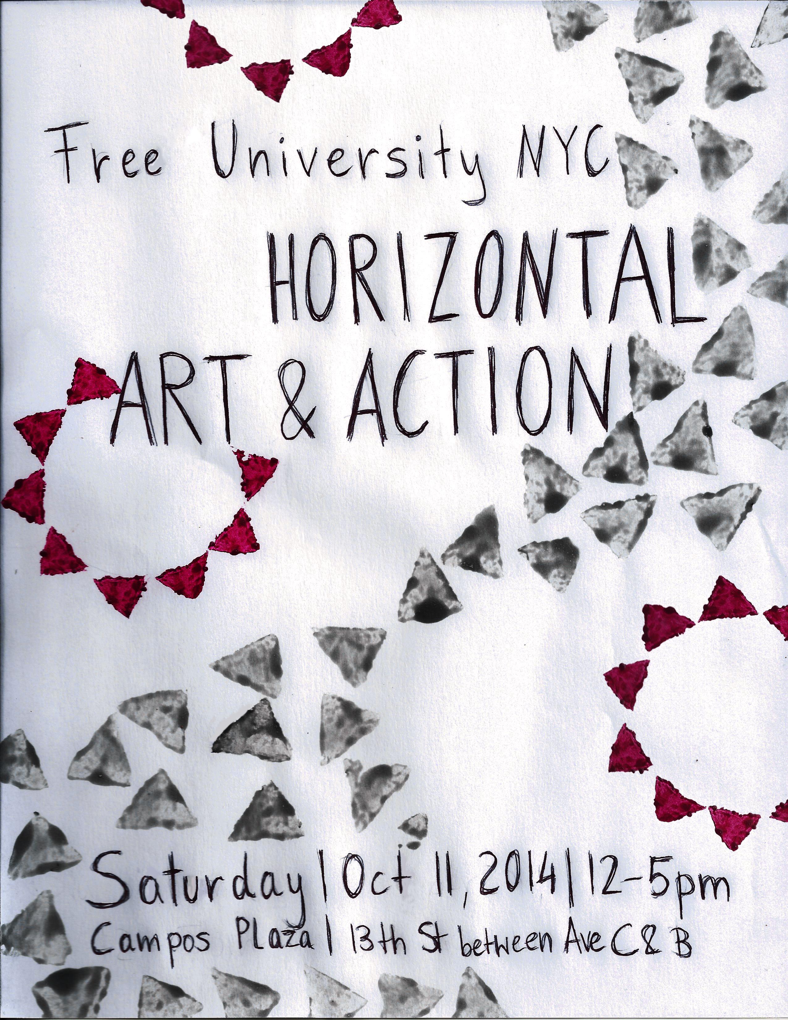 Horizontal Art & Action_poster2