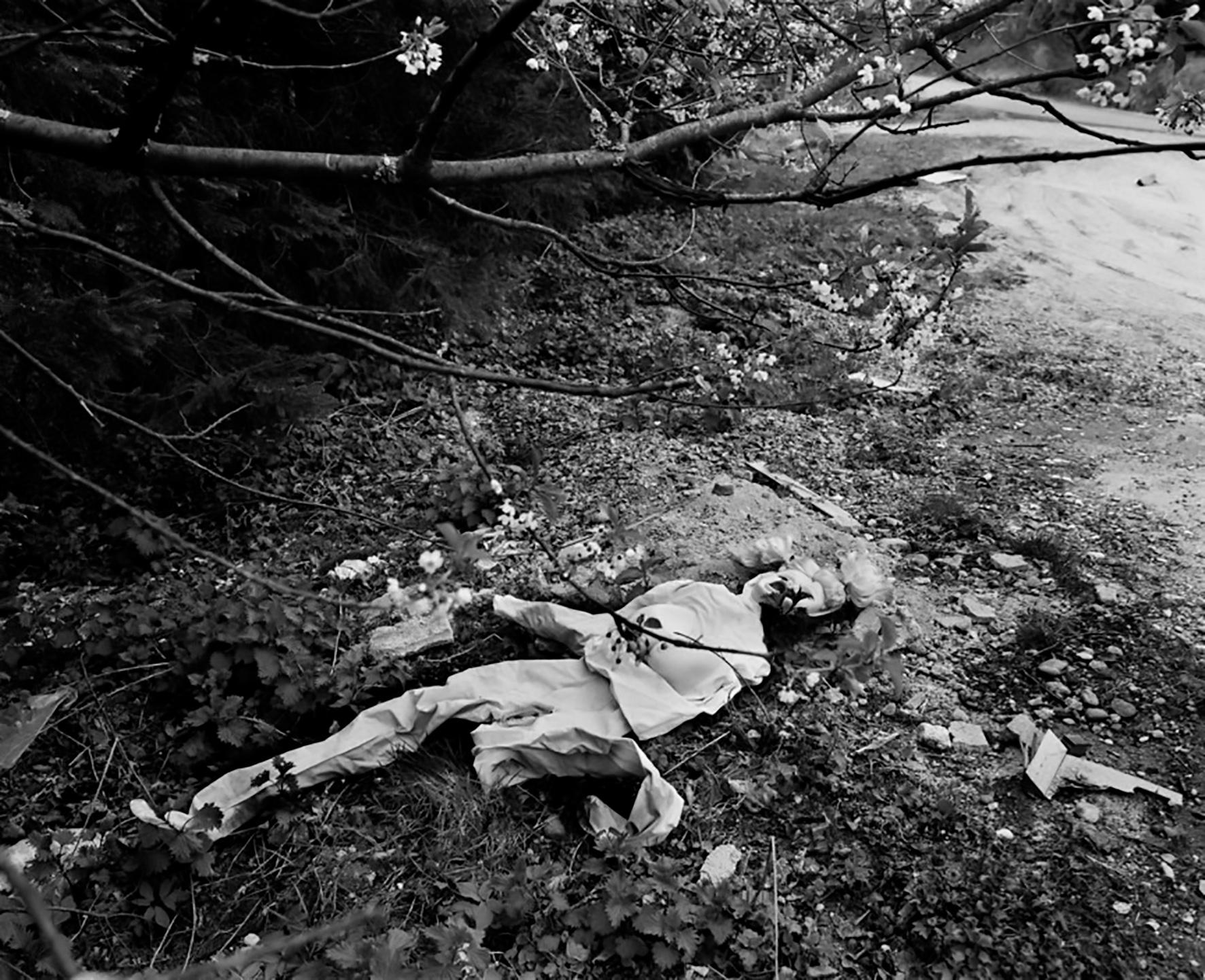 FRANCE. Les Vosges. Sex dummy. 1997.