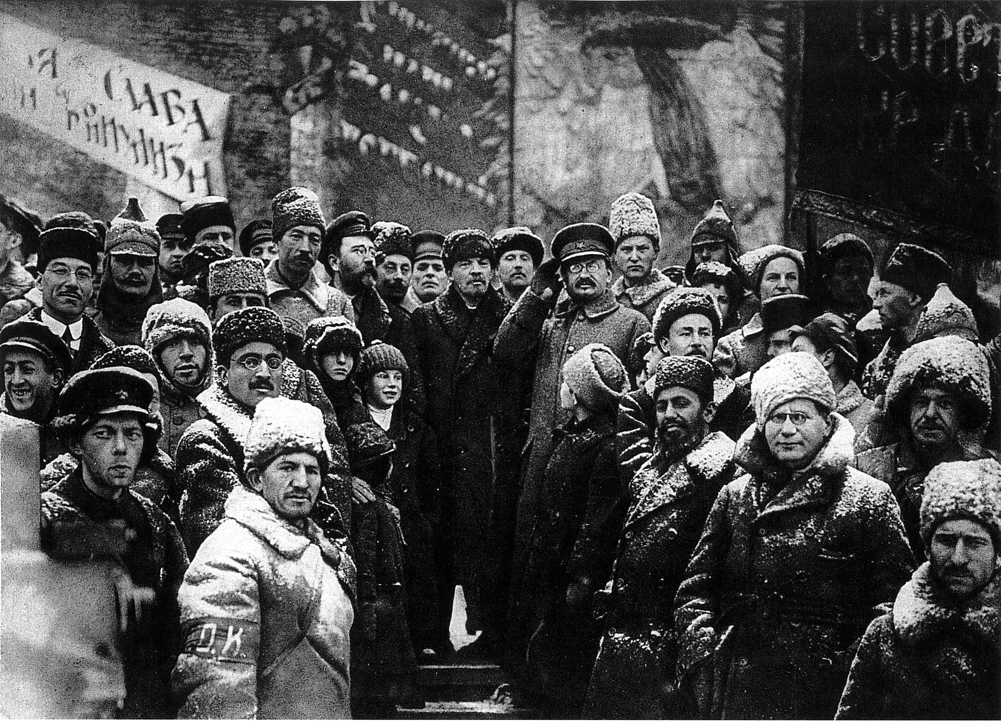 19191107-lenin_second_anniversary_october_revolution_moscow