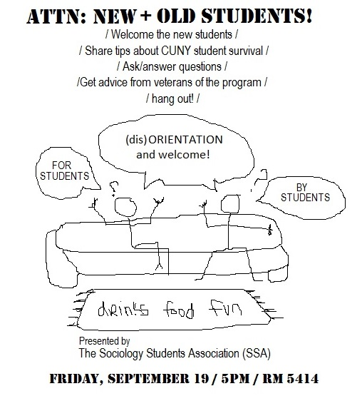 SSA 2014 disorientation flyer