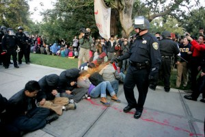 Pike pepper spraying UC Davis students