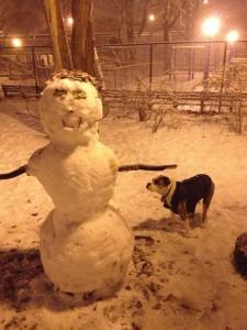 boomer snowman