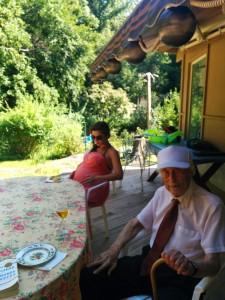 grandpa and sandy