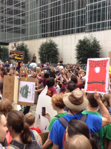 Protestors take the streets!